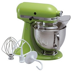 No dream kitchen is complete without a dream mixer! KitchenAid Stand Mixer in Green Apple $349.99
