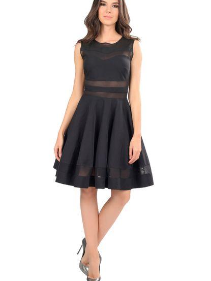Dámske šaty POESSE - čierna