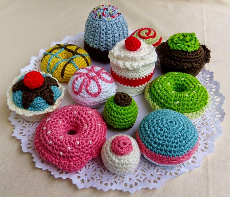 474 best Häkeln Essen images on Pinterest   Häkeltiere, Obst und Basteln