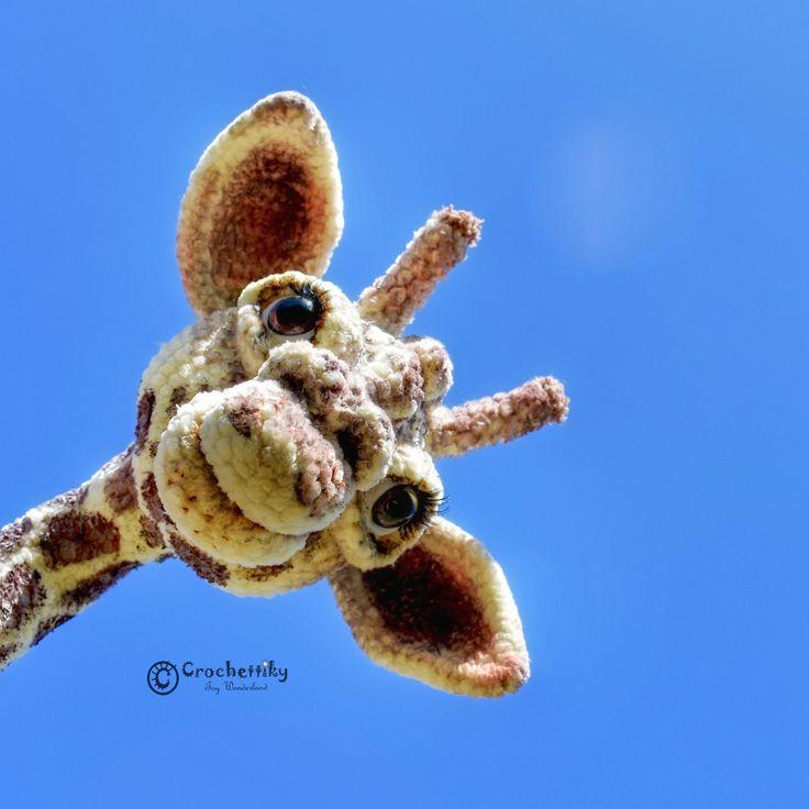 Crochettiky Jane the Giraffe