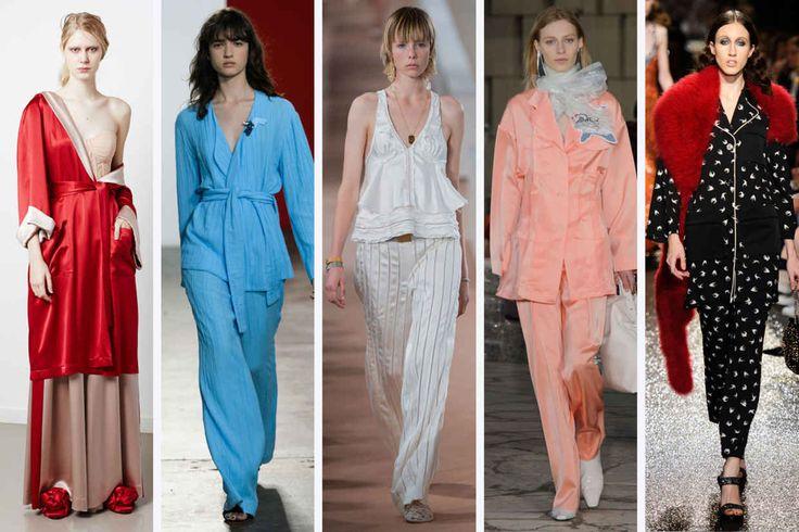 From left to right: Natasha Zinko, Creatures of Comfort, Balenciaga, Loewe, and Sonia Rykiel