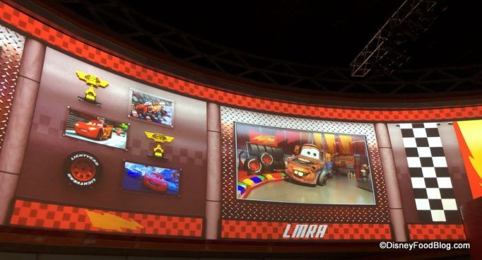 New Disney World Attraction Lightning Mcqueen S Racing Academy Is Now Open In Disney S Hollywood Studios The Disney Food Blog Hollywood Studios Disney Disney World Attractions Disney Food Blog