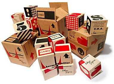 herman miller #boxes #packaging #design