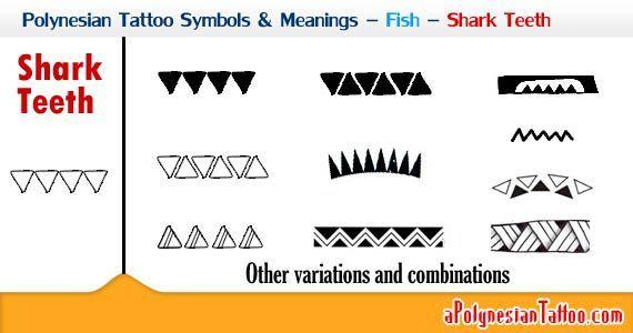 Polynesian Tattoo Symbols Meanings Fish Shark Teeth A Polynesian Tattoo In 2020 Symbol Tattoos With Meaning Hawaiian Tattoo Meanings Symbolic Tattoos