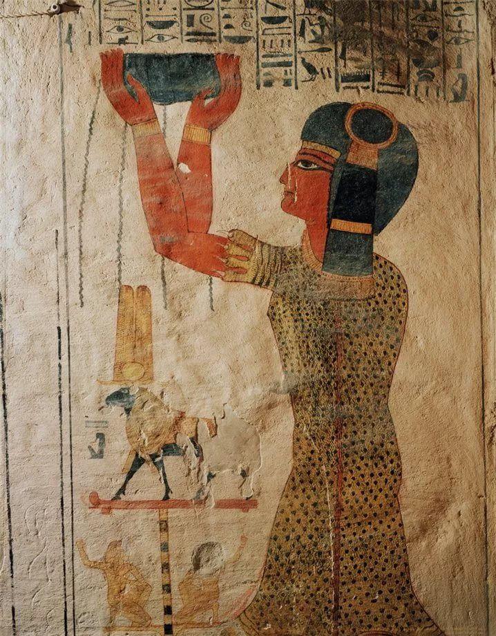 Картинки фрески древнего египта