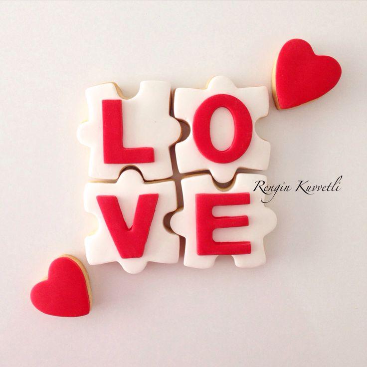 Sevgililer Günü Kurabiye / Valentine's Day Cookies