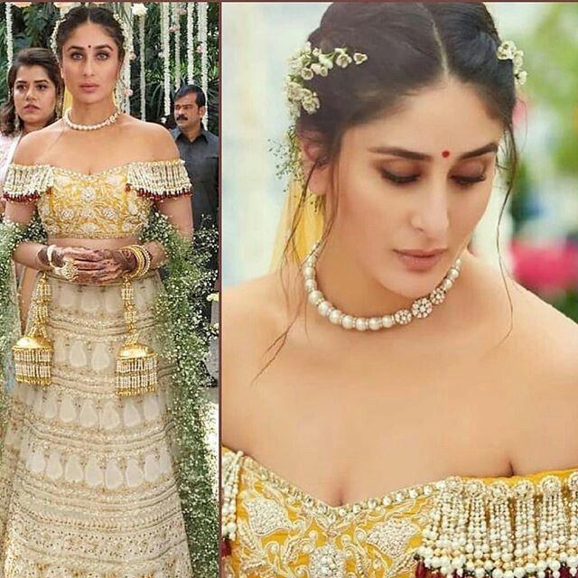 Kareena Kapoor Bridal Look Veere Di Wedding Indian Bridal Hairstyles Bollywood Bridal Indian Bridal