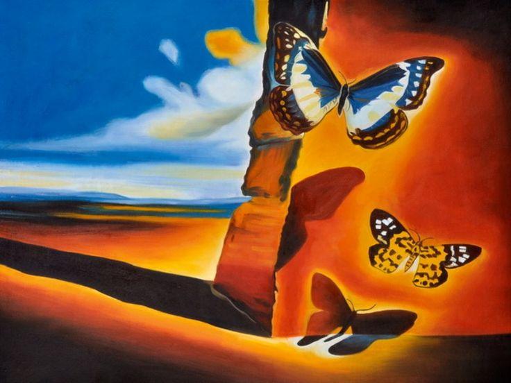 Oltre 25 fantastiche idee su dipinti ad olio con paesaggio for Quadri dipinti a mano paesaggi