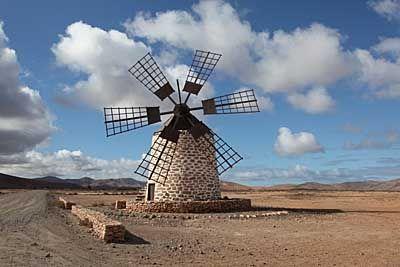 Insel Fuerteventura - Windmühle bei Tefia