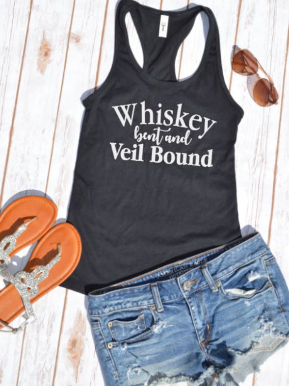 Whiskey bent and veil bound shirt- Bachelorette Party Shirts-- Nashville Bachelorette party- Nashville vacation shirt- whiskey bent shirt by HotMessMomDesigns on Etsy