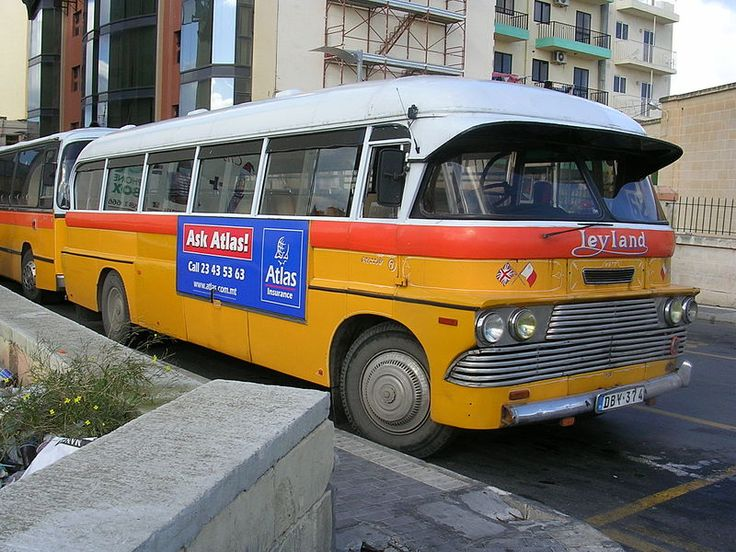 nostalgischer Linienbus ◆Malta – Wikipedia http://de.wikipedia.org/wiki/Malta #Malta