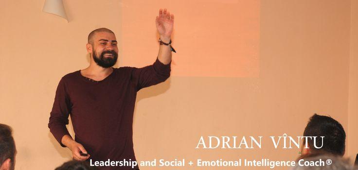 Adrian Vîntu - Leadership and Social + Emotional Intelligence Coach®