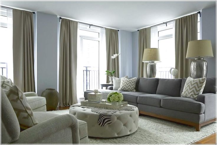 Lovely Taupe Living Room #1 - Taupe Color Paint Living Room Ideas