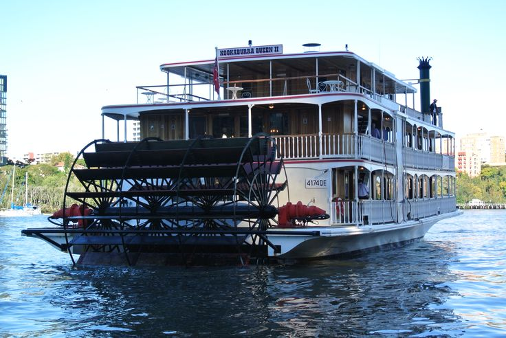 Paddle Steamer, with no steam