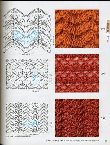 Crochetadas: Crochet: Technique and Pattern NV 70142 2012