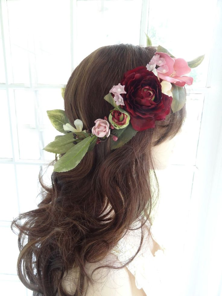 Large Roses Flower Hair Accessories Reviews - Online ...