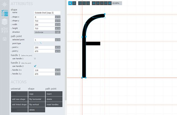 Glyphr Studio is the first free HTML5 based font editor. It is a good alternative to complex and expensive font design apps.