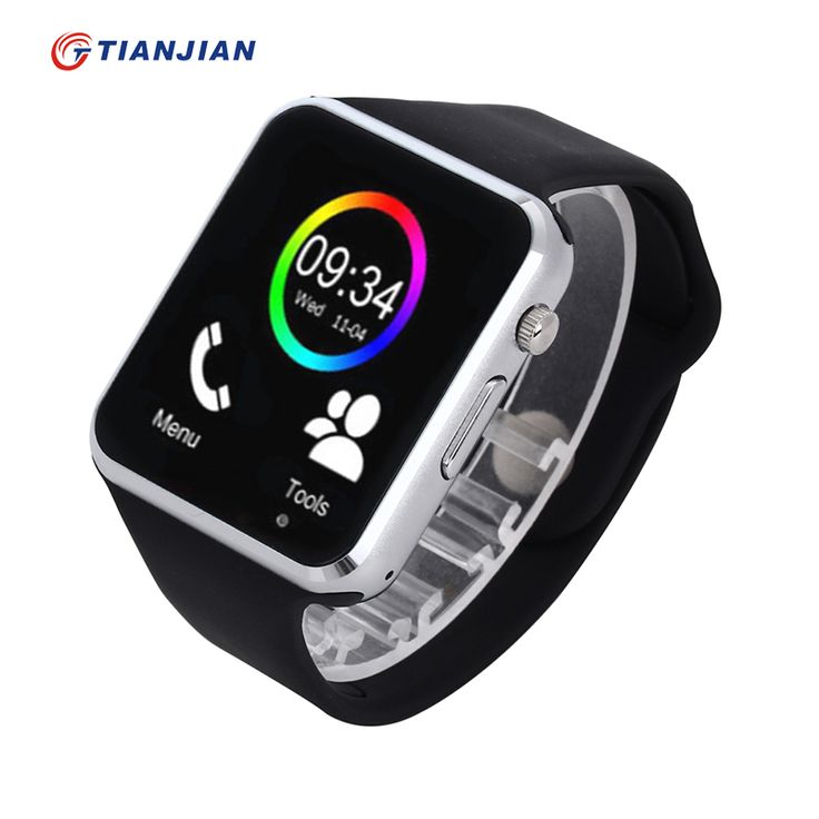 A1 smartwatch smart watch dengan kamera bluetooth pedometer sleep tracker MP3 Menjawab Panggilan Untuk Android iOS PK DZ09 U8 GT08 GV18