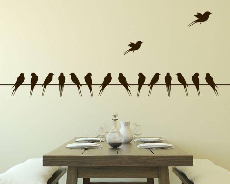 les 25 meilleures id es concernant stickers muraux sur. Black Bedroom Furniture Sets. Home Design Ideas