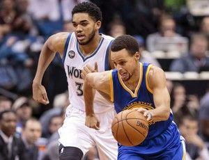 Blog Esportivo do Suíço:  Com 46 pontos de Curry, Warriors batem Wolves e seguem fazendo história