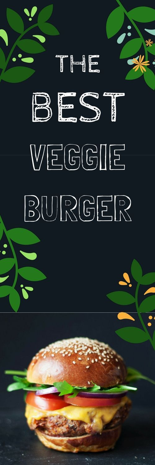 This is THE BEST Veggie Burger Recipe going!  Packed full of sweet potato, beans, and spices, it's sure to keep even the biggest carnivore happy!