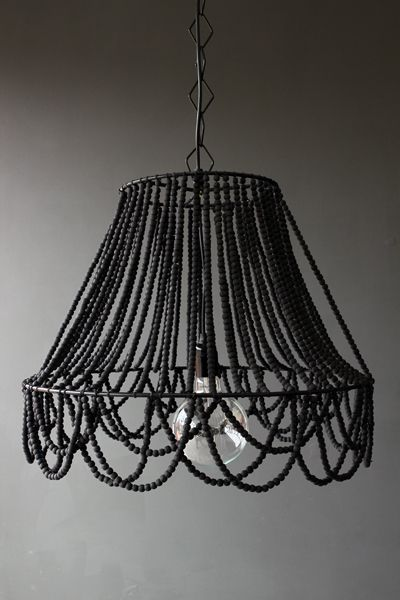 Beaded Ceiling Light