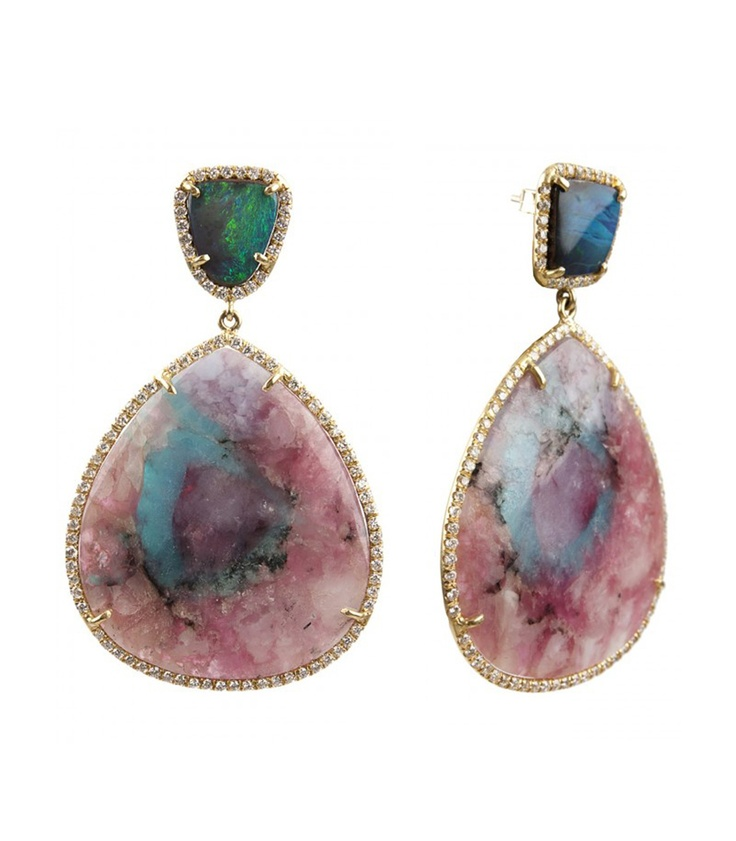 Irene Neuwirth Paraibia Tourmaline Earrings