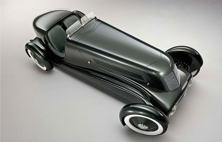 Edsel Ford's custom prewar speedster with loads of flair.