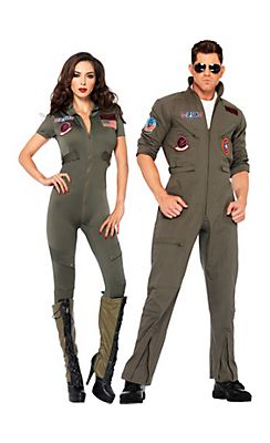 Top Gun Couples Costumes @ Party City