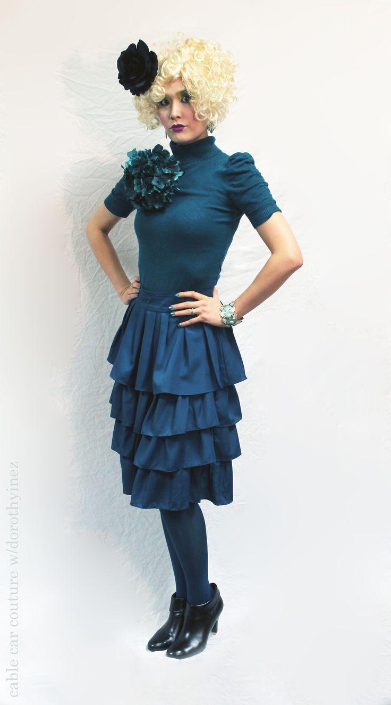effie trinket costume inspiration -- halloween costume ideas
