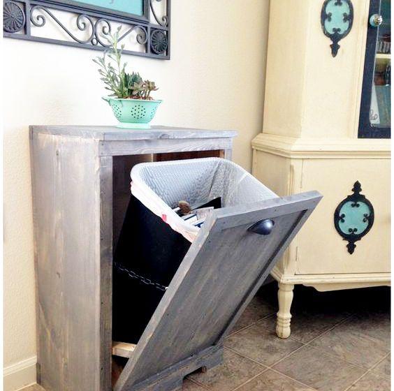 ゴミ箱を綺麗に収納するお手軽リフォーム | 俺のリノベーション白書 リフォーム ゴミ箱