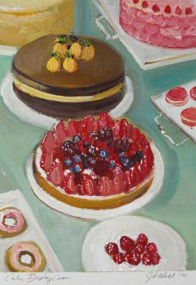 Джанет Хилл торт Display Case 2010 (спасибо sadcakes за вашу поддержку!)