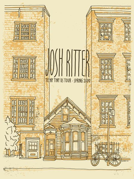 """""""I think about the Big One, W.W.I.I.I. Would we ever really care the world had ended? You could hold me here forever like you're holding me tonight I look at that great big red button and I'm tempted."""" -- Josh Ritter"""