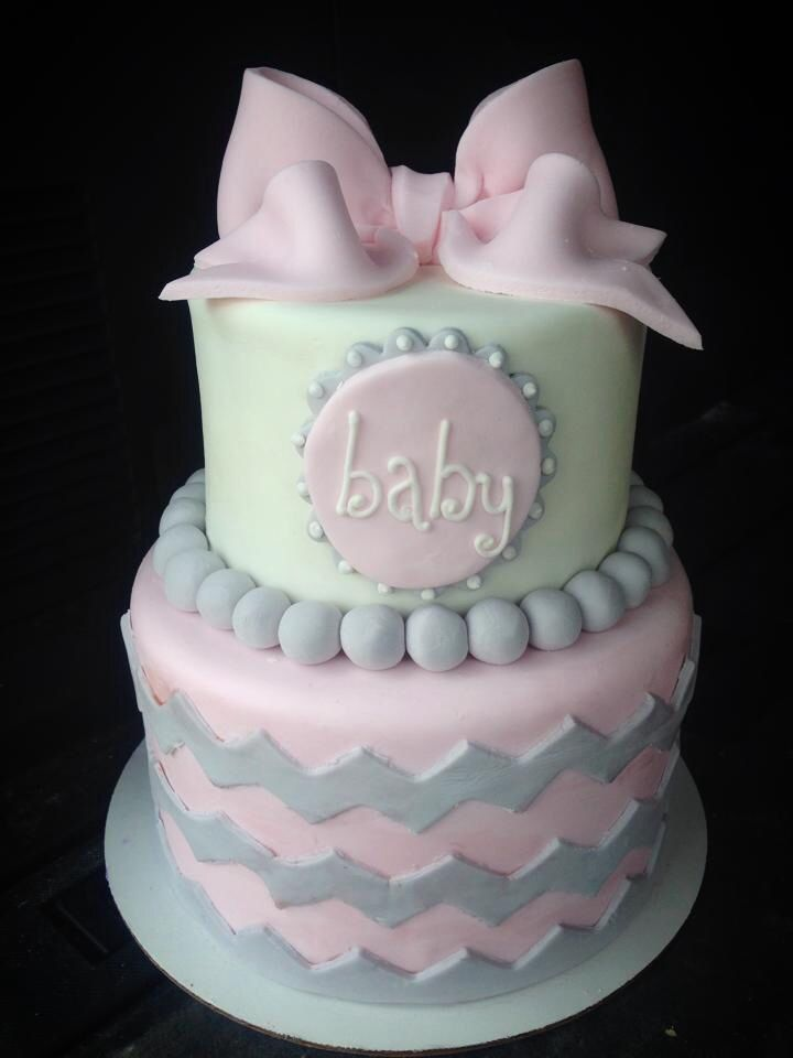 Baby Girl Cupcake Cake Ideas