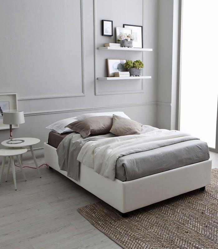 18 best Letti in legno e imbottiti images on Pinterest | Bedroom ...