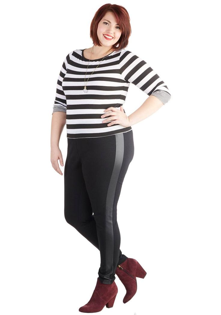 Plus-Size-Leggings-for-school-girls-717x1024 Legging Outfits for Plus Size-10 Ways to Wear Leggings if Curvy