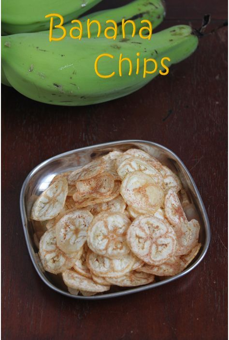 Jaya's recipes: Vazhakkai chips/Raw Banana Chips