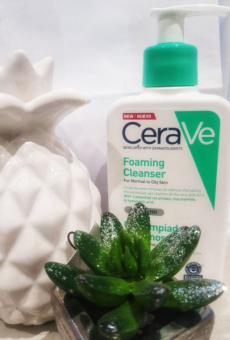 There are a plethora of products for cleansing and CeraVe Foaming Cleanser is a gentle foam that soothes my skin, slough the impurities and ...