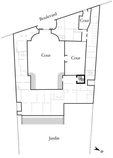Gertrude - rampe d'appui, escalier de l' hôtel de Roquelaure, actuellement ministère de l'Ecologie (non étudié) - Inventaire Général du Patrimoine Culturel (1.3.1 (Build: 99))