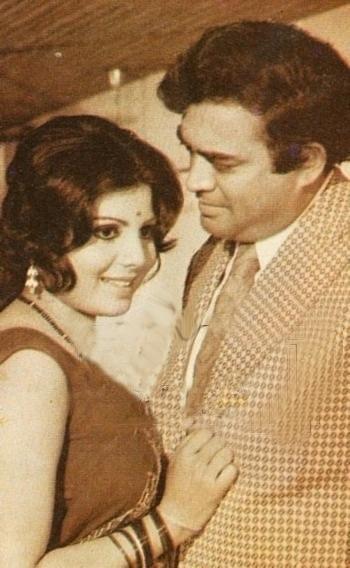 Sanjeev kumar and sulakshna Pandit