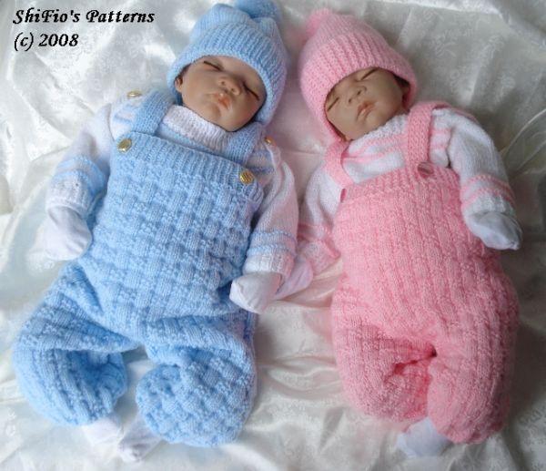 Dungaree Baby Knitting Pattern 91 Baby Knitting Baby