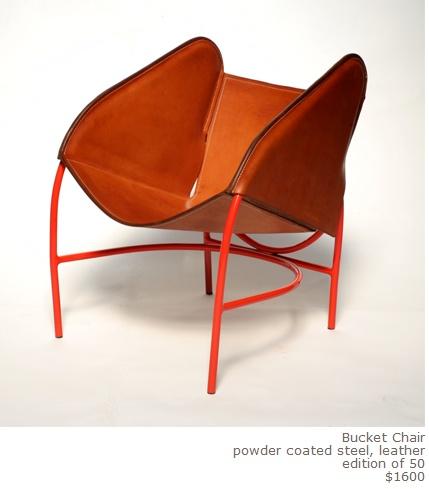bucket chair by Silla $1600.