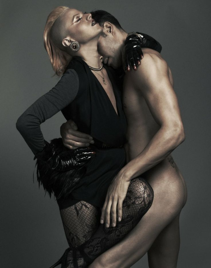 Cfnm Oblečen ženski goli moški, modna fotografija-5297