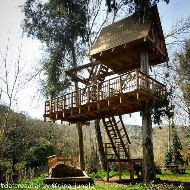 Oltre 25 fantastiche idee su case sull 39 albero per bambini - Progetto casa sull albero per bambini ...