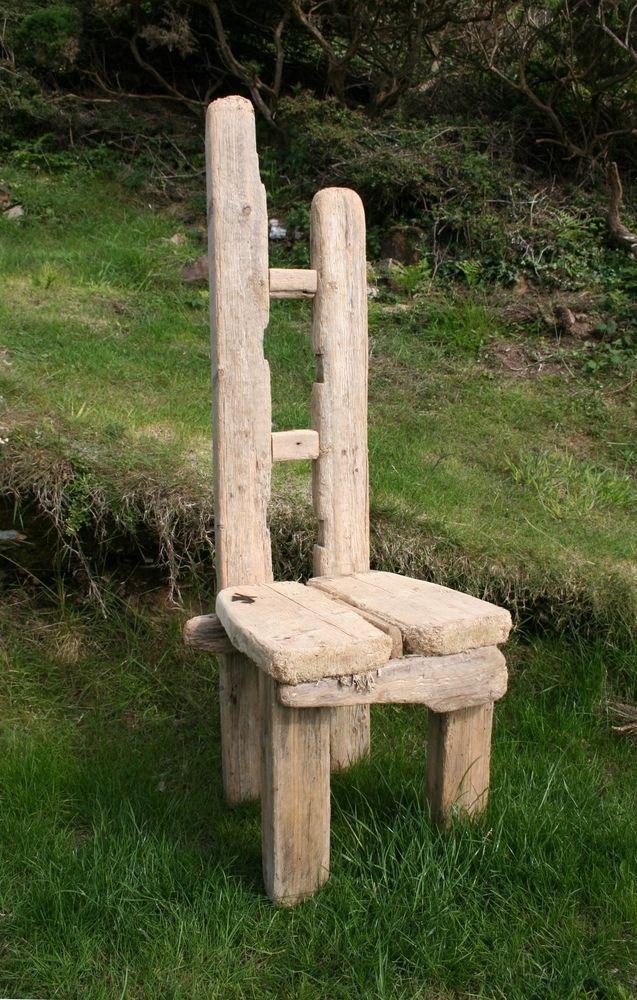 Diftwood Chair, Drift wood Garden Chair, Driftwood Garden seat, Coastal Garden £175.00