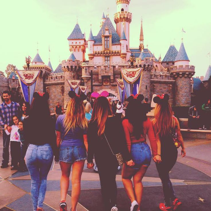 Image result for disneyland with friends tumblr