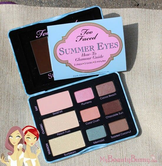 Too faced eyeshadow palettes are the best!