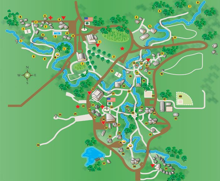 Rock Springs' Maps | Driving Directions and Facilities