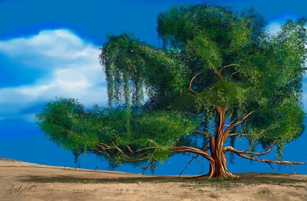 Tree of life on Behance