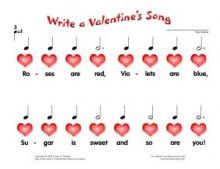 valentine song names